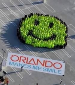 Le plus grand smiley du monde
